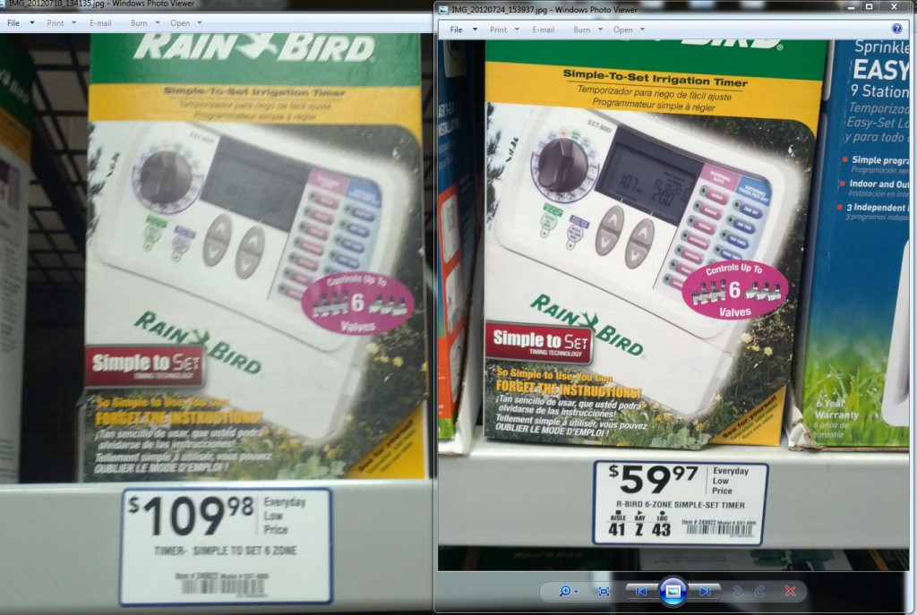 rainbird controller